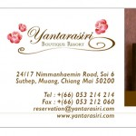 yantarasiri identity design business card