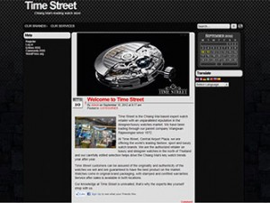 web design for time street