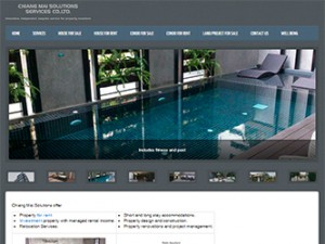 web design for chiangmaisolutions