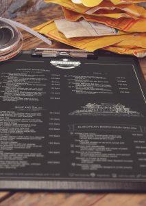 The Chiang Mai menu printing on demand
