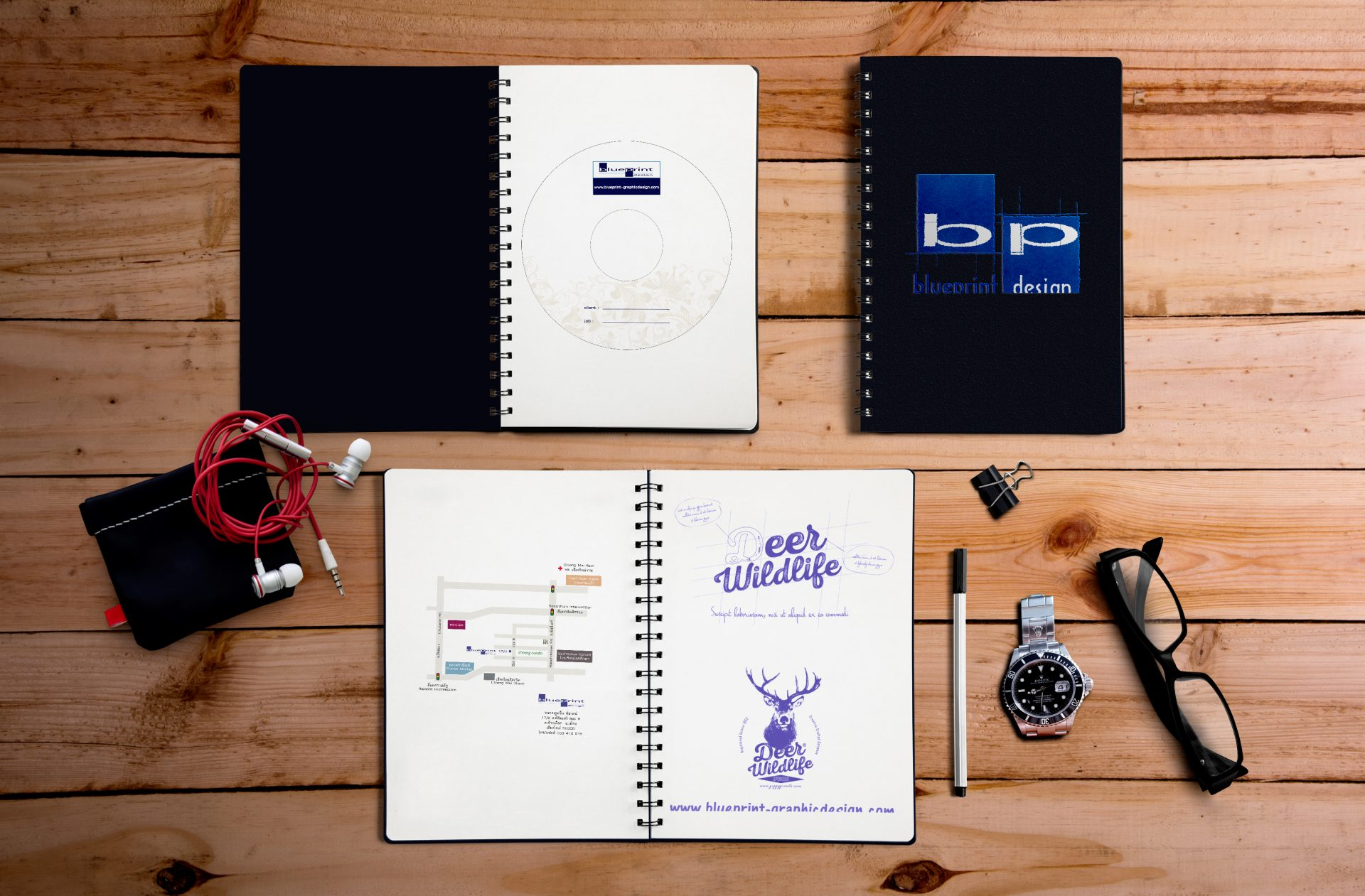 Blueprint design graphic and web design chiang mai home malvernweather Choice Image