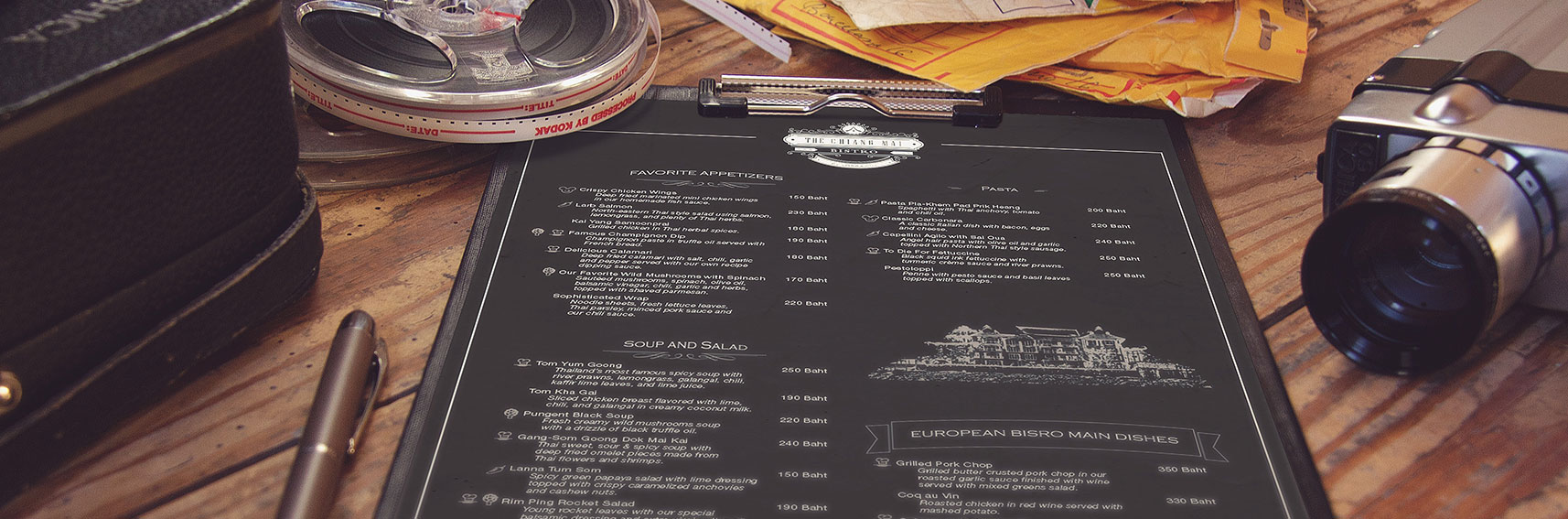 menu print on demand