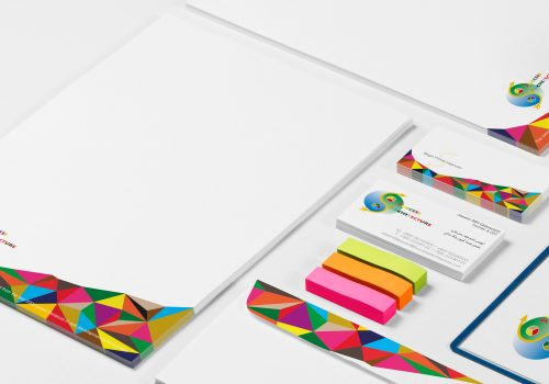 stationary design set for Success Architech