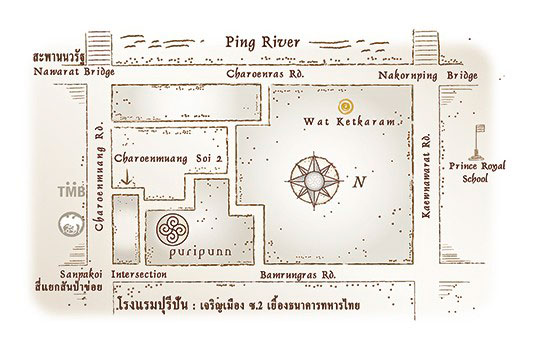 puripunn map design