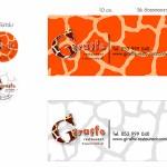 brand indentity design for Giraffe Bar & Restaurant