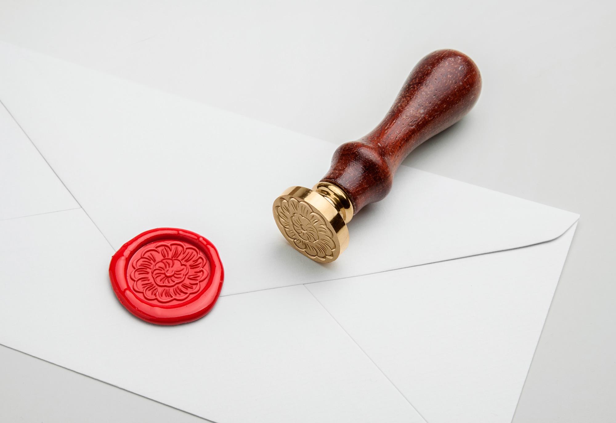 Yantarasri identity design (seal stamp)